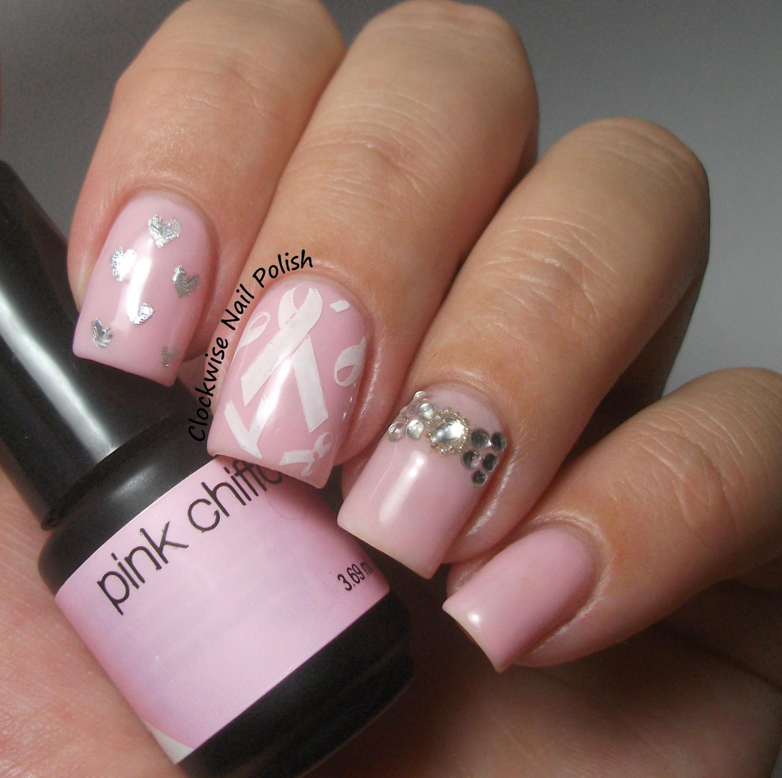 Breast cancer toe nail designs nail art gallery breast cancer awareness nail art photos breast cancer toe nail designs prinsesfo Images