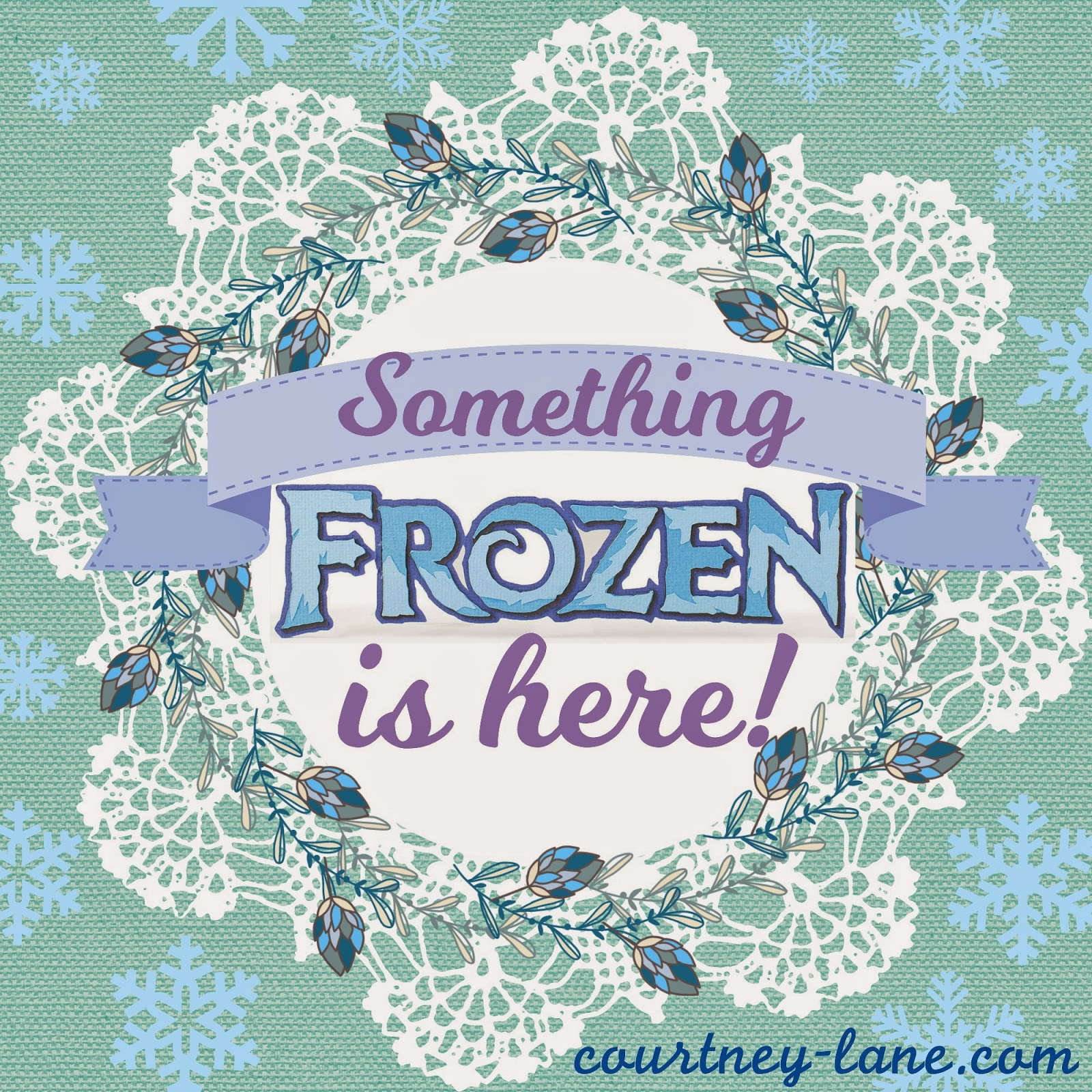 something frozen is here