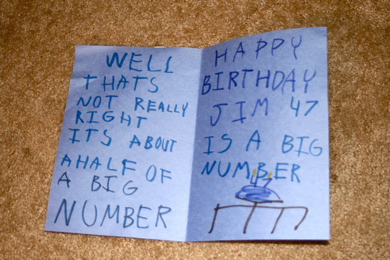 Rants Raves The Birthday Card He Would Write If He Could