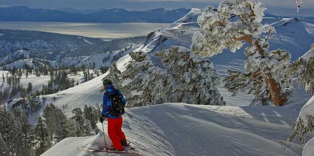 Onde esquiar na Califórnia
