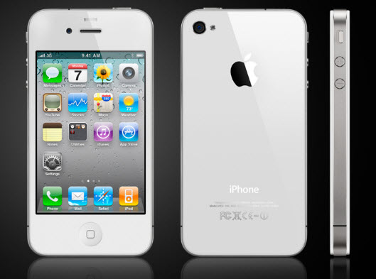 See the Apple iPhone 4 white