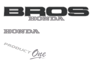 Honda bros Logo Vector
