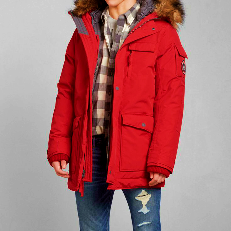 Abercrombie And Fitch Parka Mens