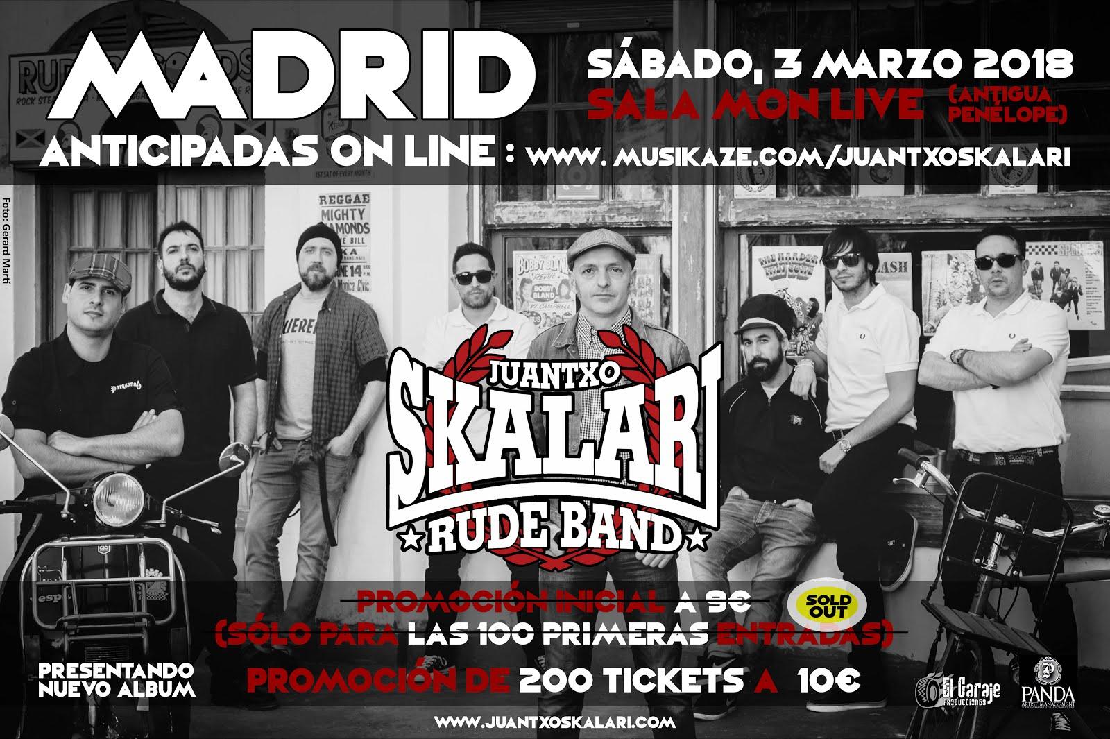 MADRID - SALA MON LIVE   03/03/2018