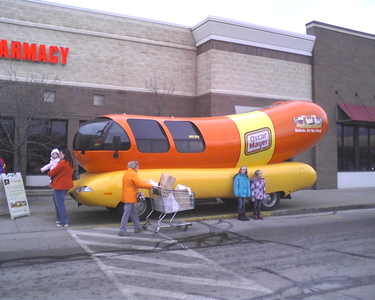The Oscar Mayer Wienermobile Visits on oscar meyer whistle