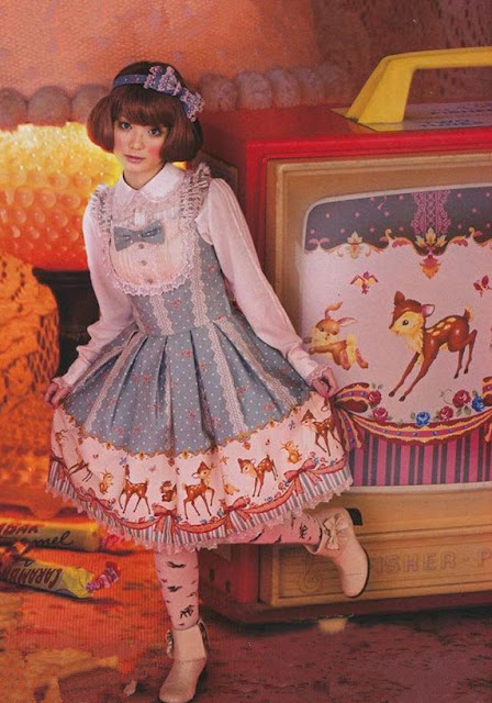 Fascinating Printed Rococo Lolita Dresses