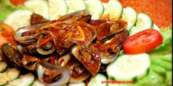 Resep Kerang Saus Padang aromadapurdotcom