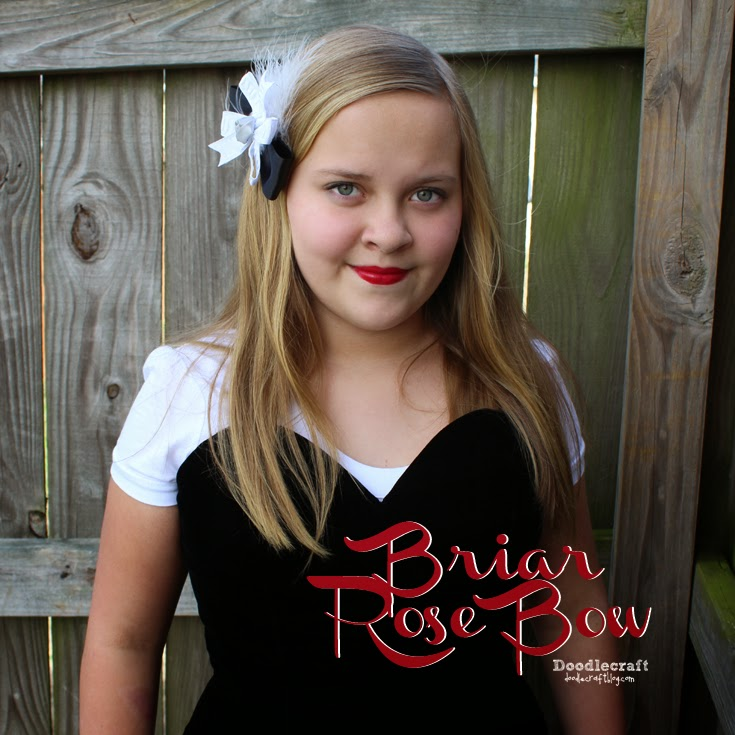 http://www.doodlecraftblog.com/2015/09/briar-rose-sleeping-beauty-hair-bow.html