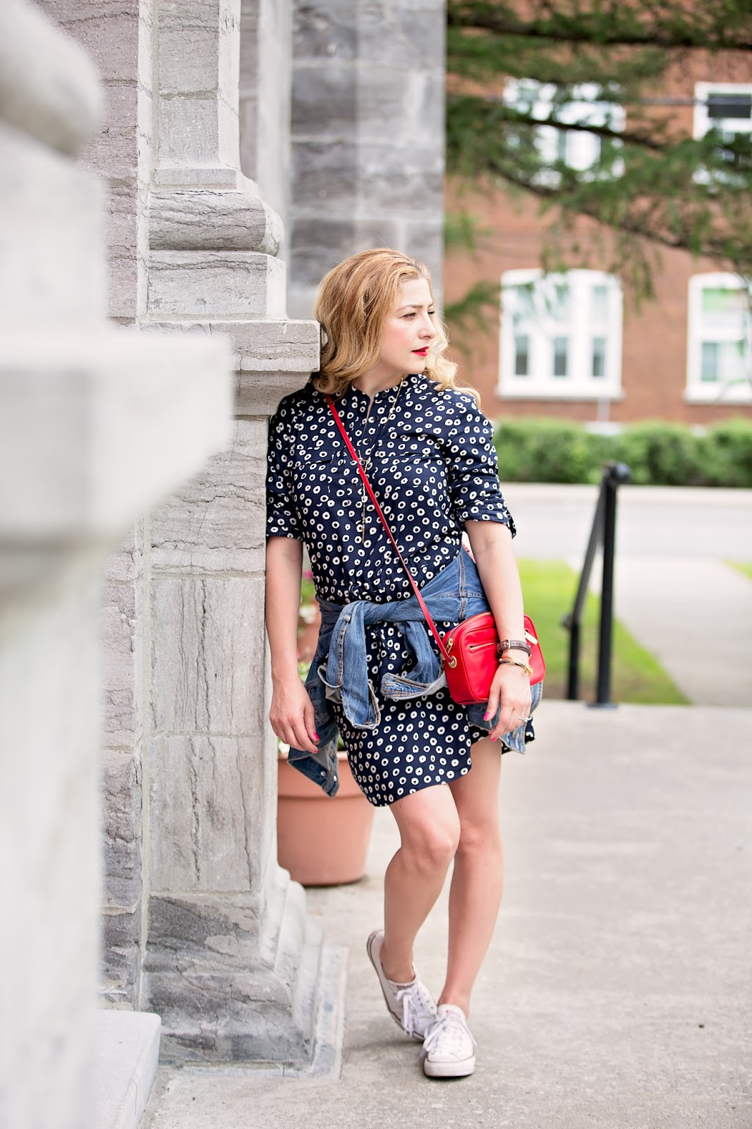 ooh la la shirtdress