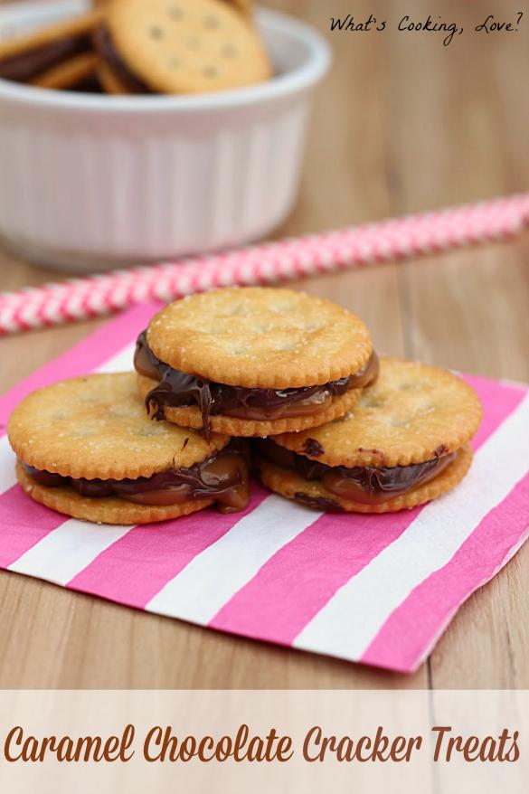 Caramel Chocolate Cracker Treats