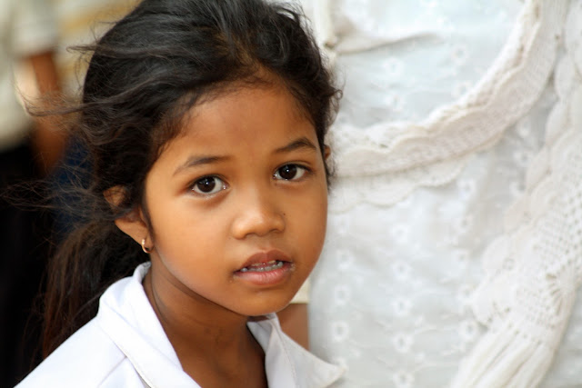 Visages du jour : les sourires khmers