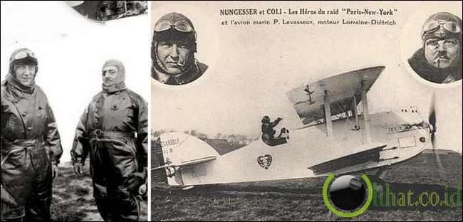 Charles Nungesser dan Francois Coli, 1927