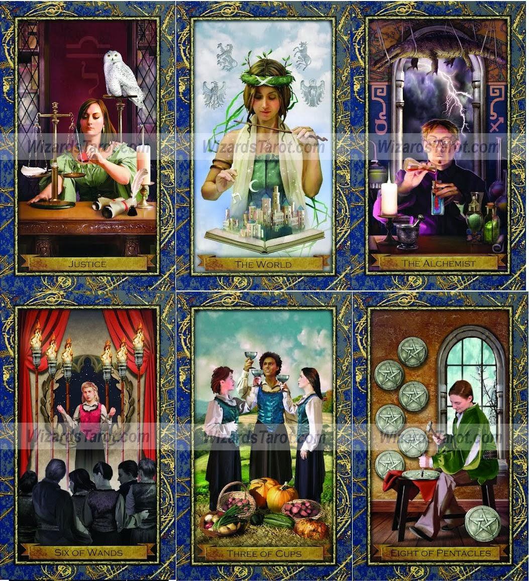 Harry Potter Wizards Tarot Witches Ellen Dugan 3D computer graphic ไพ่ยิปซี ไพ่ทาโร่ แฮรี่ พอตเตอร์ แฮร์รี่ ไพ่ พ่อมด