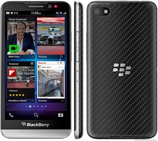 Harga dan Spesifikasi BlackBerry Z30 Terbaru