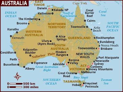 Harta e Australisë