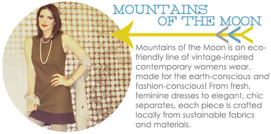 Mountains of the Moon Eco-Friendly Clothing