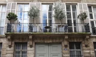 Balcon 20 rue de Saintonge à Paris