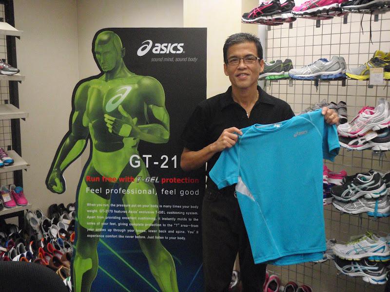 RunningShield: Running Gear from Asics - Tokyo Marathon Feb. 26,2012