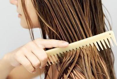 El peine es el mejor amigo del pelo mojado