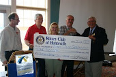$1,000 Donation to Rotary Wheels for Learning