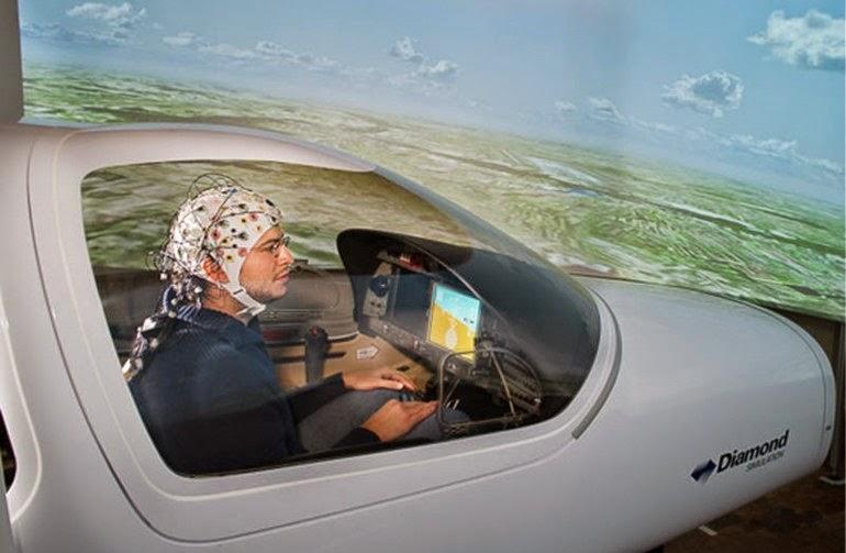 mind control airplane simulator