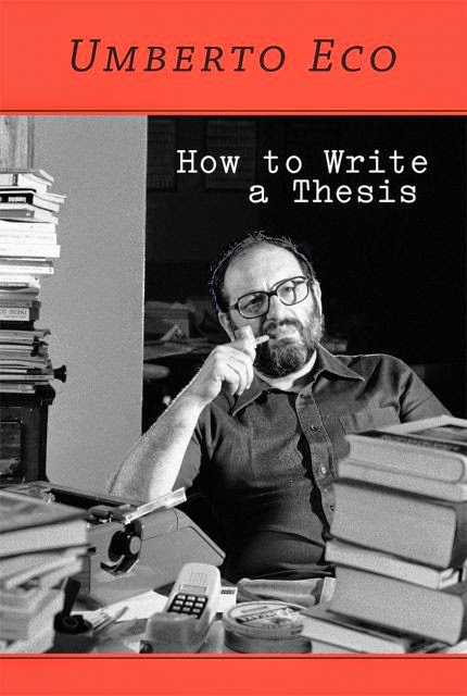 steps involved in writing a thesis