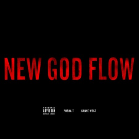new god flow 450x450 Kanye West ft. Pusha T   New God Flow