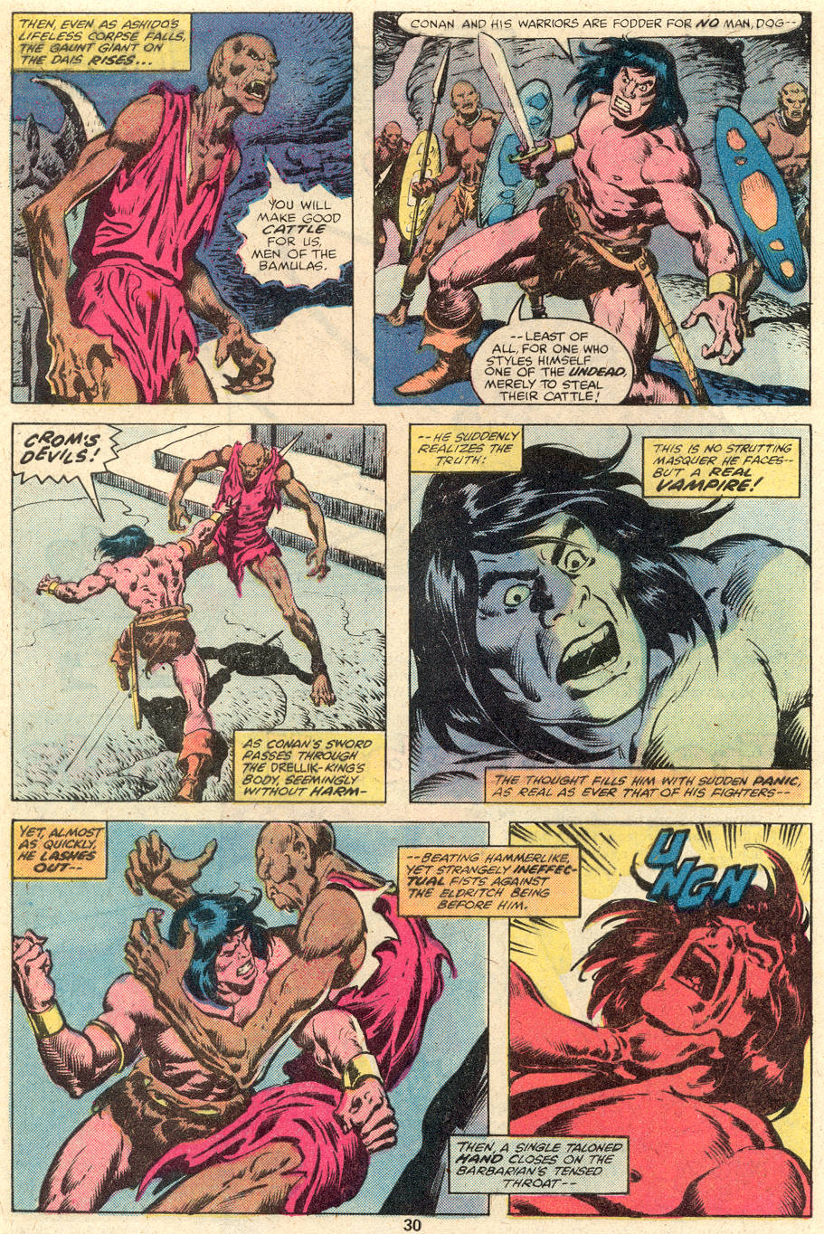 Conan the Barbarian (1970) Issue #102 #114 - English 17