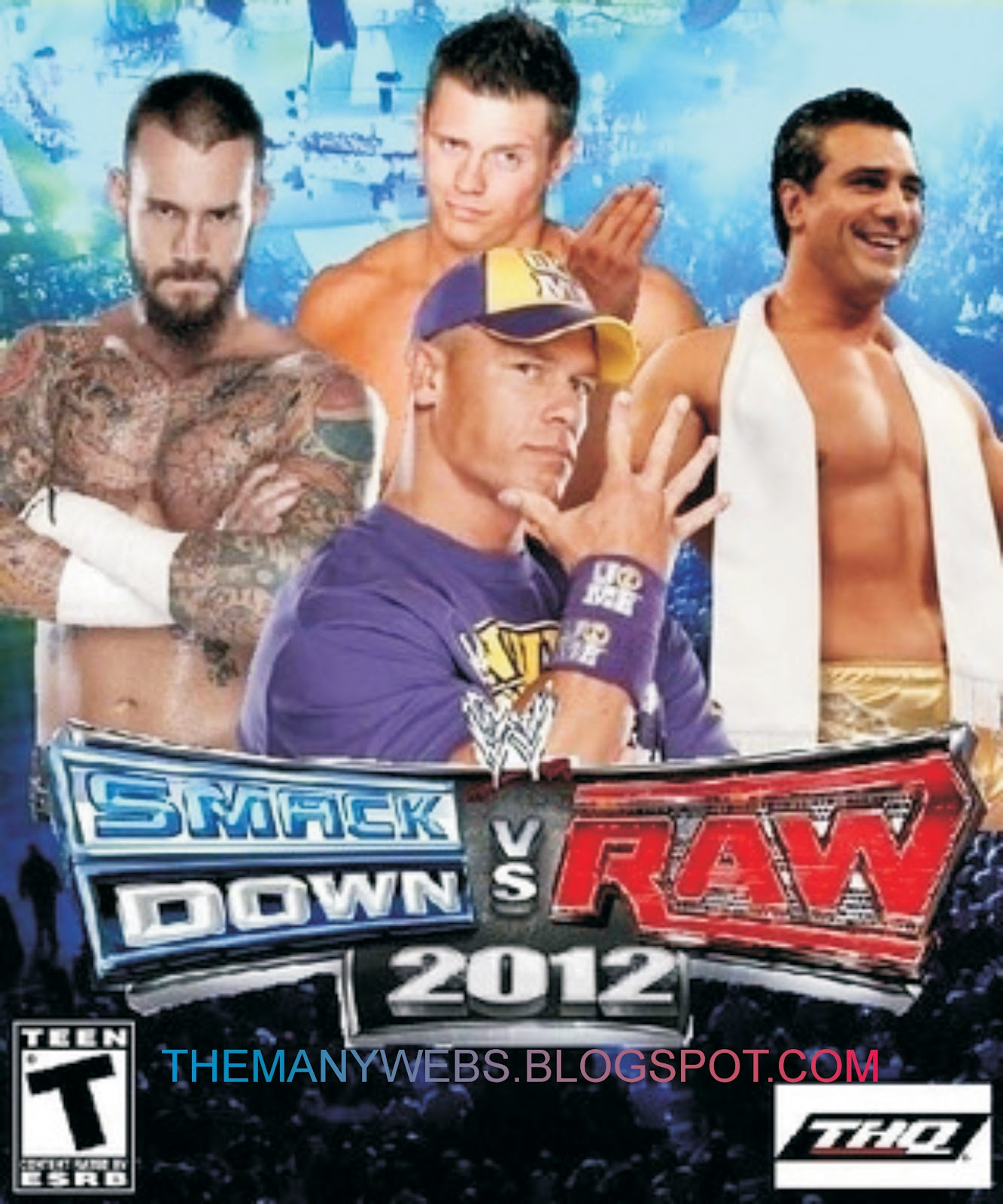 WWE Smackdown Vs. Raw 2012 Game Free Download