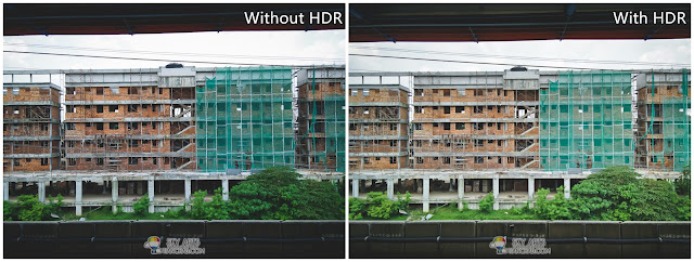 HDR mode on OnePlus One to reveal details in shadow