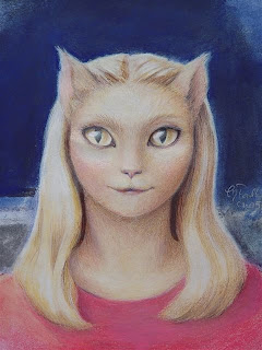 Humanoid Cat Alien People