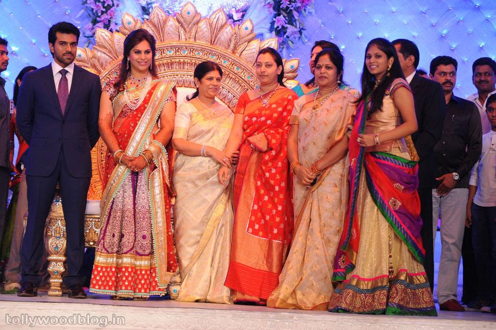 Ram Charan Wedding Reception Photos Ram Charan Upasana