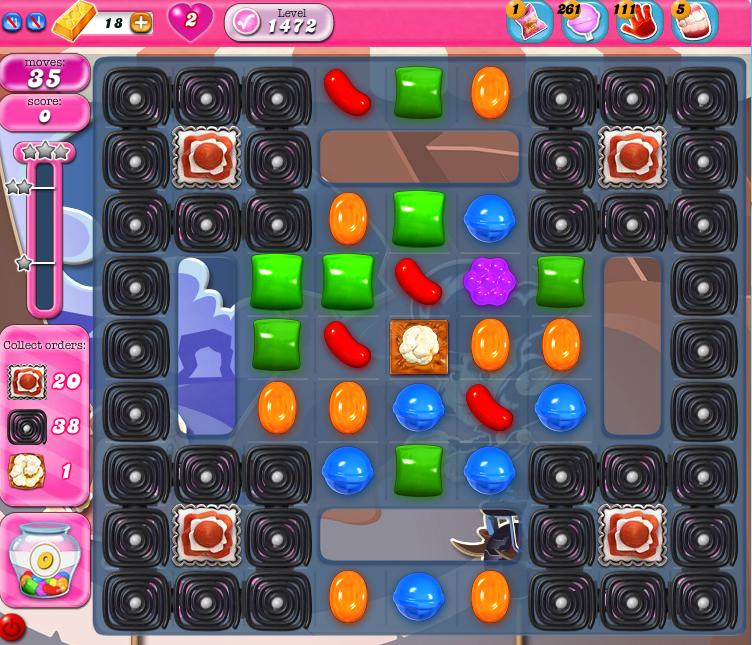 Candy Crush Saga 1472