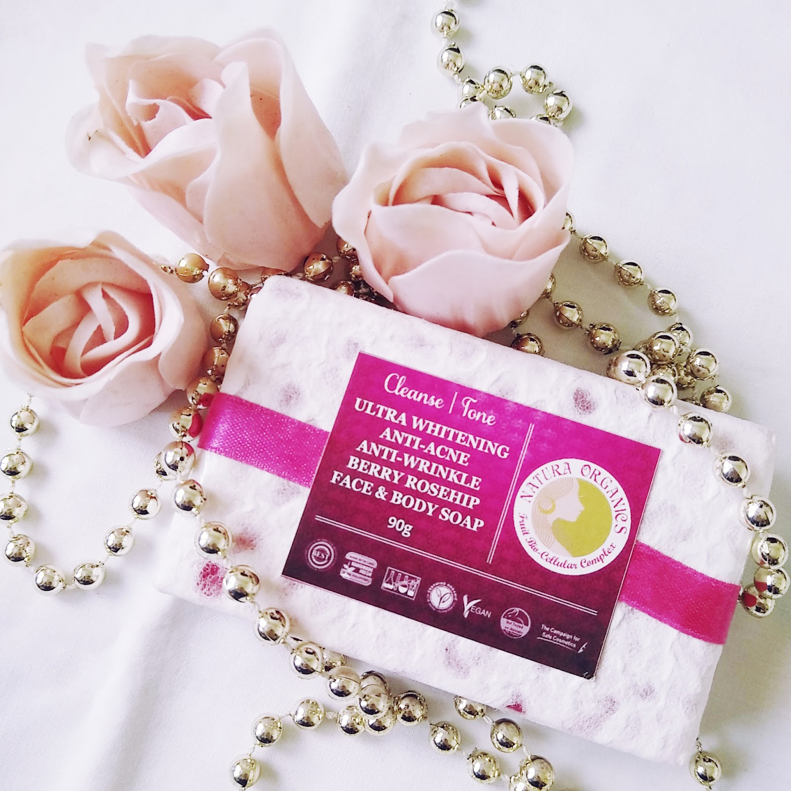 Berry Rosehip face and body soap from Natura Organics - THE BEAUTY ...
