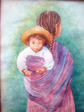 Niño (acuarela)