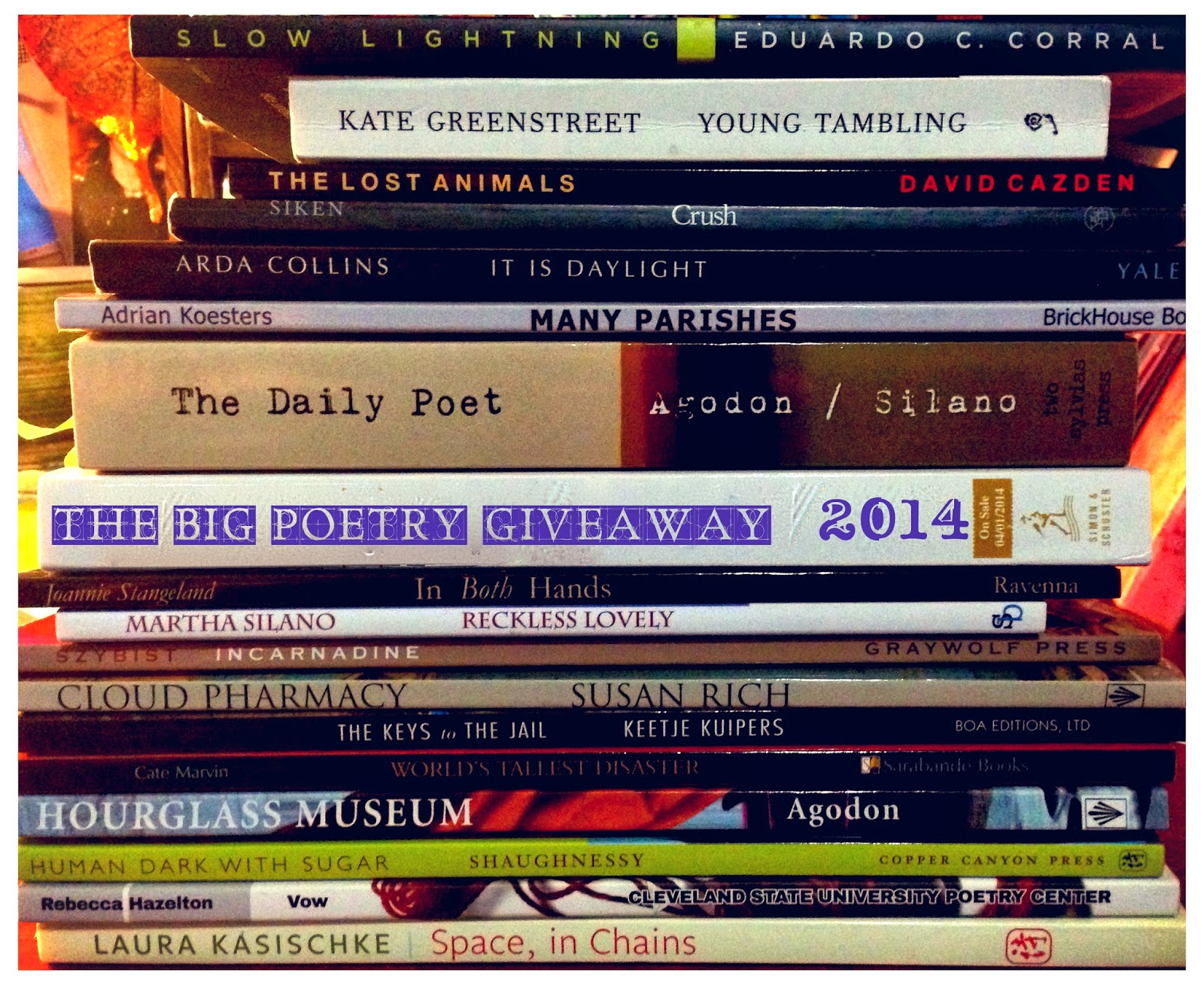THE BIG POETRY GIVEAWAY 2014