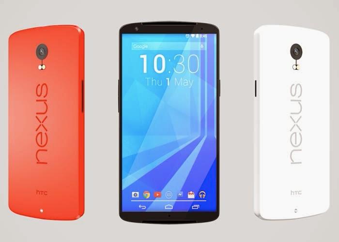 HTC muestra su concepto de NEXUS 6 con pantalla de 5,7 pulgadas