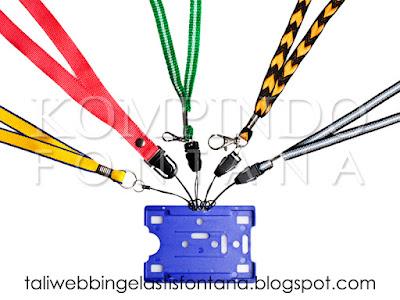 tali webbing untuk HP atau lanyard