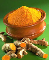 tumeric root and powder