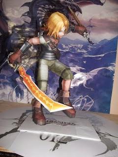 Final Fantasy - Zidane Papercraf Model