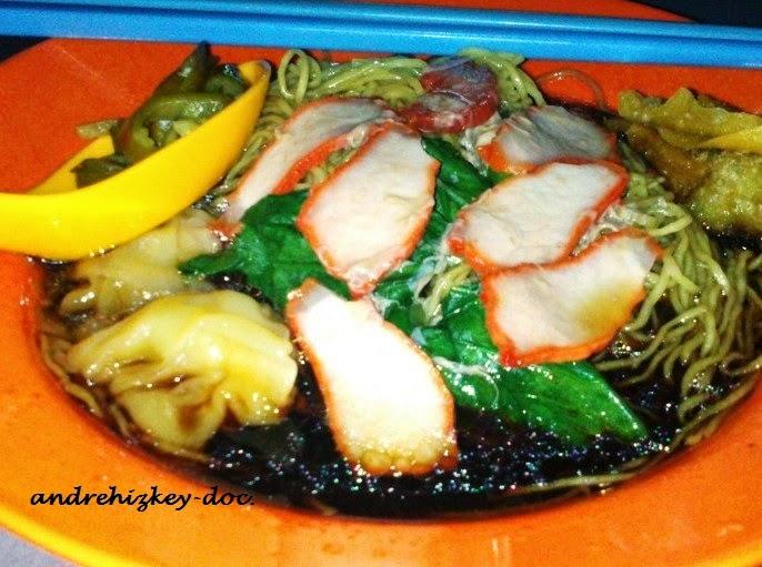 Chulia Street Wan Tan Mee