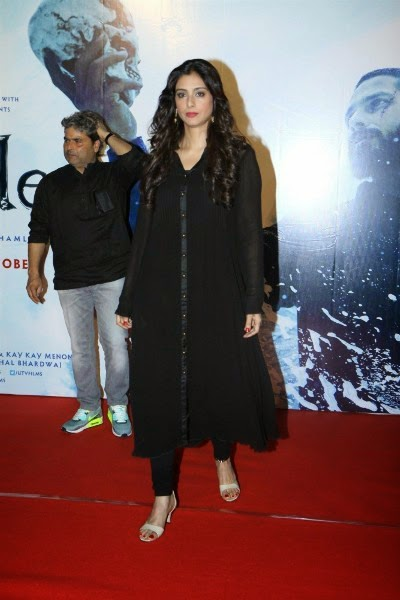 Tabu at Haider Trailer Launch