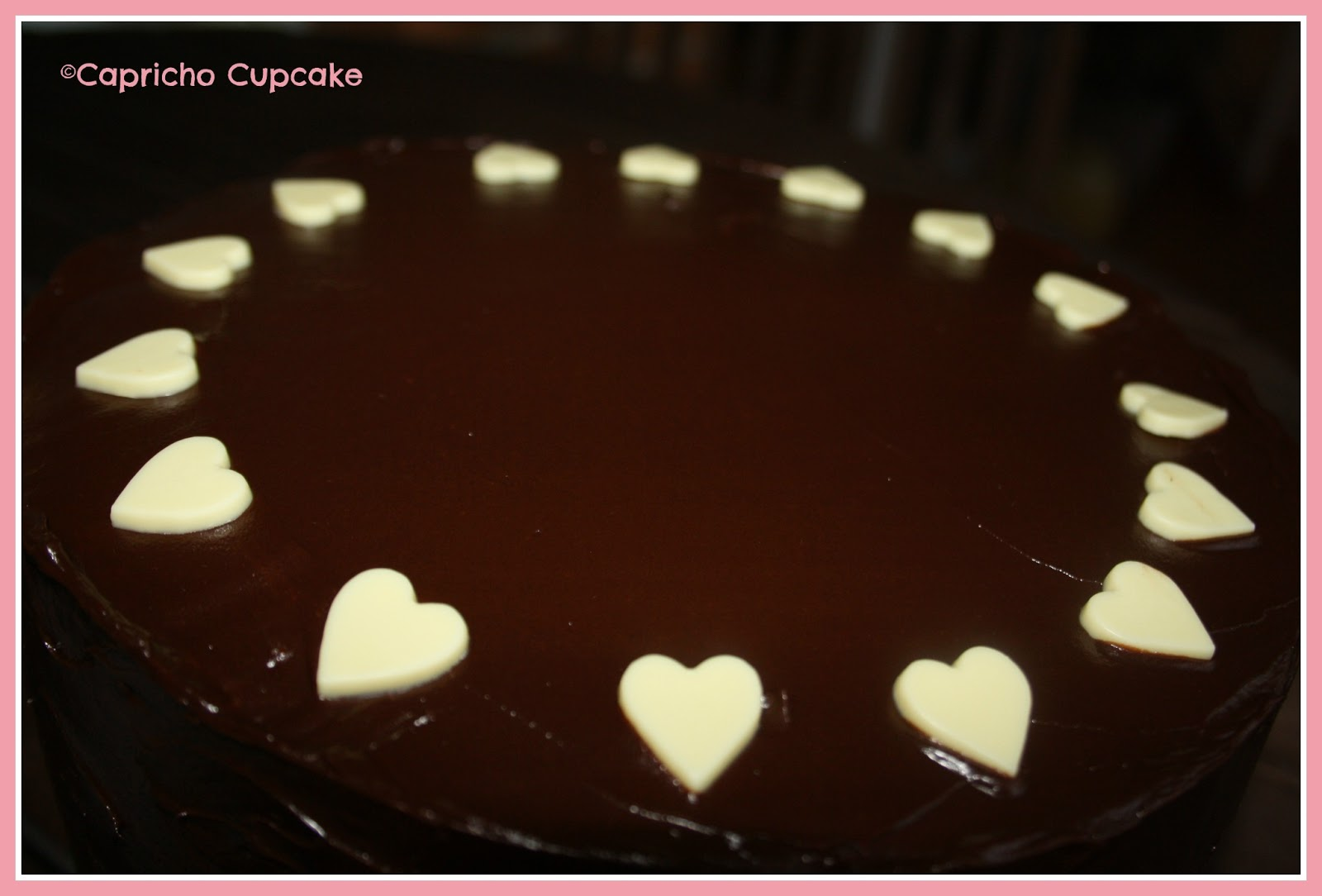 layer cake chocolates y ganache capricho cupcake