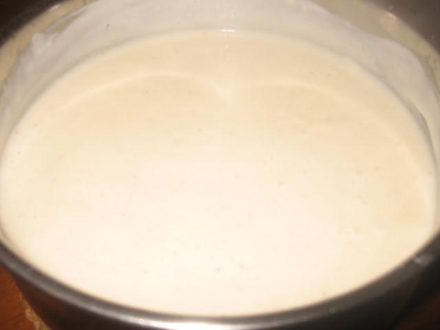 besciamella (senza burro)