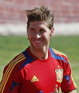 SERGIO RAMOS SHORT HAIRCUT