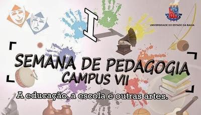ADIADA SEMANA DE PEDAGOGIA DA UNEB DE BONFIM