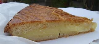 Gâteau basque pastel vasco de crema