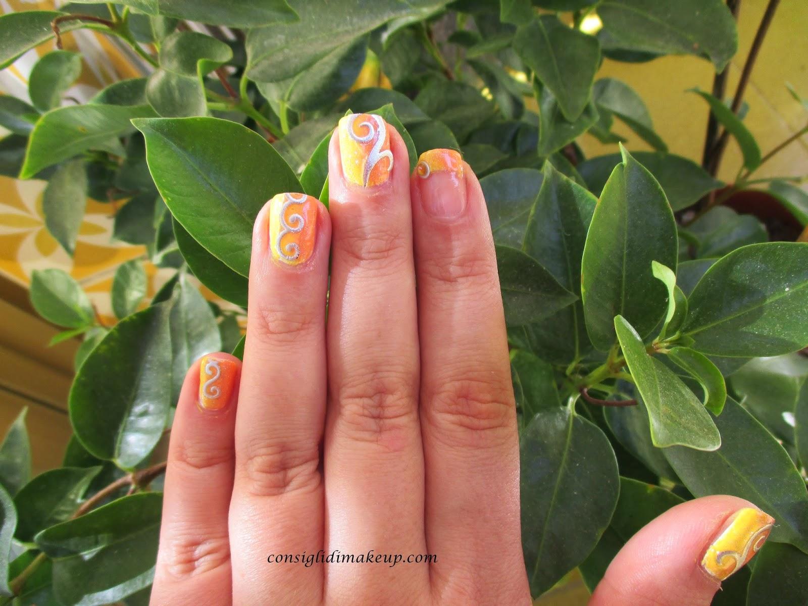 Nail art: shade shade shade