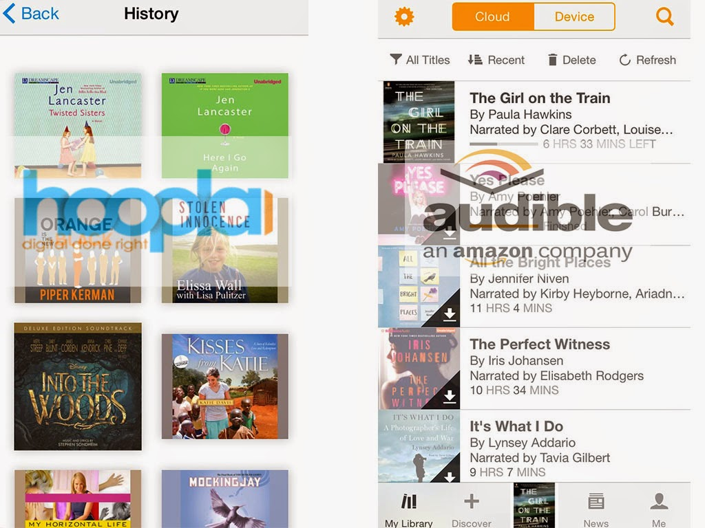 how to download hoopla audiobooks