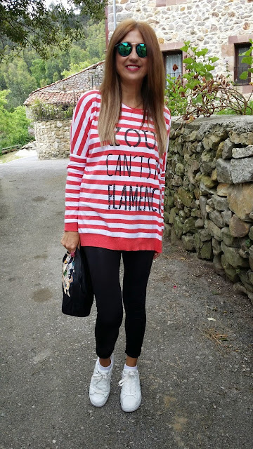 Carmen Hummer, Wally, The hip Tee, Isadora Comillas, Street Style, Fashion BLogger, Puma, Bimba y Lola, Look, Tshirt